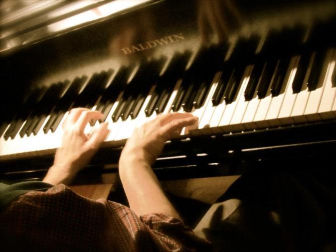 Piano.  Champaign, IL December 2011.